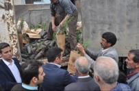 Arıcak'ta 2 Bin 750 Adet Fidan Dağıtıldı