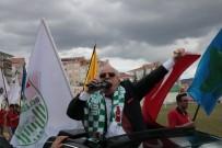 NECATI ŞENTÜRK - Emekli Olan Vali Necati Şentürk, Davullu-Zurnalı Kortejle Helallik İstedi