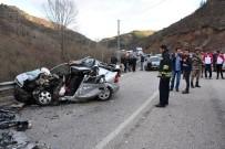 Gümüşhane'de Feci Kaza Açıklaması 3 Ölü, 1 Yaralı