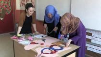 Köy Okulunda 'Keçeden Modeller'le Eğitim