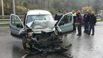 ÇAM AĞACI - Samsun'da 4 Kişinin Yaralandığı Araçtaki Keçiye Bir Şey Olmadı