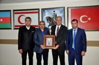 NAZİLLİ BELEDİYESPOR - Voleybol Federasyon Başkanı Üstündağ Ve Nazilli Belediye Başkanı Alıcık Birlikte Maç İzledi