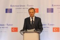 DONALD TUSK - AB Konseyi Başkanı Tusk Açıklaması 'Türkiye'nin Darbe Girişimi Sırasındaki Olaylardan Büyük Zarar Gördüğünü Biliyoruz'