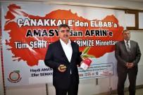 Amasyalılardan Afrin'deki Mehmetçiklere Bin Taşınabilir Şarj Cihazı