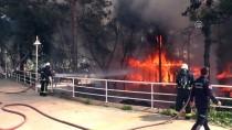 KUĞULU PARK - Antalya'da Restoranda Yangın