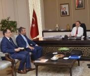 Başkan Bedirhanoğlu, Kentin İhtiyaçlarını Bakan Özhaseki'ye İletti