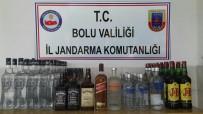 VOTKA - Bolu'da, 81 Litre Kaçak İçki Yakalandı