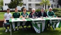 ENES ÜNAL - Bursaspor'un Futbol Akademisi'nden 3 Profesyonel İmza