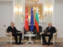 DONALD TUSK - Cumhurbaşkanı Erdoğan, Bulgaristan Başbakanı Borisov İle Bir Araya Geldi