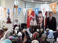 MEHMET DURUKAN - Develi AK Parti Kadın Kolları Yeni Başkanını Seçti
