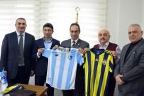 ERZURUMSPOR KULÜBÜ - Fenerbahçe'den B.B. Erzurumspor'a Ziyaret
