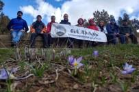 Gümüşhaneli Dağcılardan Bahar Mevsimindeki İlk Yürüyüş Ünlüpınar Beldesine