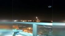 YANGIN TATBİKATI - İsrail, Hamas'a Ait Askeri Mevzileri Bombaladı