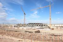 15 BİN KİŞİ - Karaman'ın UEFA Standartlarındaki Yeni Stadyumunda Tribünler Ortaya Çıktı