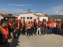 KAPSAM DIŞI - Karayolları Yol Bakım İşinde Çalışanlardan İş Bırakma Eylemi