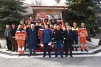 KAPSAM DIŞI - Kızılcahamam Karayolları Taşeron İşçilerinden Kadro Talebi