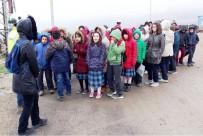 Lapseki'de Öğrenciler Maden Tesisini Gezdi