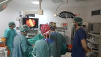 SAFRA KESESİ AMELİYATI - Lapseki Devlet Hastanesinde Laparoskopik Cerrahi Ameliyatları Yapılmaya Başlandı