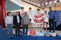 TÜRKİYE YÜZME FEDERASYONU - Mersinli Sporcular Yüzme Müsabakalarına Damga Vurdu