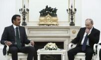 KATAR EMIRI - Putin Ve Katar Emiri Moskova'da Bir Araya Geldi