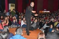 KADIN CİNAYETLERİ - Sunay Akın Nazilli'de Sanatseverler İle Bir Araya Geldi