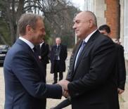 DONALD TUSK - Tusk Ve Borisov, AB-Türkiye Zirvesini Görüştü