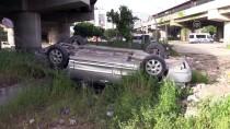 Adana'da Otomobil Köprüden Düştü Açıklaması 2 Yaralı