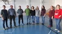 SAĞLIK MESLEK LİSESİ - Burhaniye'de Öğretmenler Halk Oyunları Kursuna Katıldı