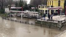 SARAY MUTFAĞI - DSİ Tıkanan Meriç Köprüsü'nün Gözlerini Temizledi