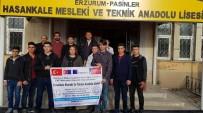 ERASMUS - Hasankale MTAL 2018 Erasmus Öğrenci Hareketliliği Projesi Tamamlandı