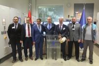ELEKTRİK ÜRETİMİ - İBB Başkanı Mevlüt Uysal, Çöp Gazından Elektrik Üretimi Yapan Santrali Ziyaret Etti