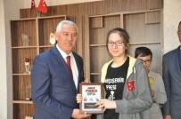 MALKOÇOĞLU - İl Milli Eğitim Müdürü Osman Elmalı Başarılı Öğrencileri Makamında Kabul Etti