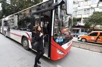 KISA MESAFE - İzmir'de Otobüste 'Gittiğin Kadar Öde' Sistemi