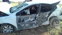 KAĞIT FABRİKASI - Malatya'da Feci Kaza Açıklaması 1 Ölü, 4 Yaralı