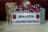 Mardin'de 6 Bin 600 Paket Kaçak Sigara Ele Geçirildi