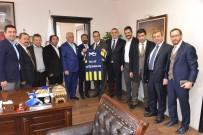DUMLU - Mosturoğlu'ndan Göğebakan'a Fenerbahçe Forması