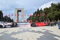 ÇANAKKALE ŞEHİTLİĞİ - Öğrenciler Çanakkale Şehitliklerini Ziyaret Etti