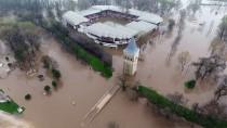 SARAY MUTFAĞI - Tunca Nehri'nin Debisindeki Artış Sürüyor