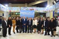 TEKNOLOJİ FUARI - Başkan Böcek'e Şehircilik Ve Teknoloji Fuarı Teşekkürü