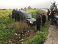Bayramiç-Ezine Yolunda Kaza Açıklaması 2 Yaralı