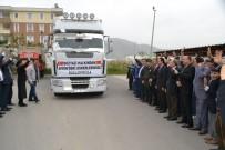 HAYATI TAŞDAN - Bozyazı'dan Afrin'deki Mehmetçiğe 20 Ton Muz