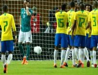 TALİSCA - Brezilya Almanya'yı tek golle yıktı