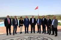 ÇUKUROVA GAZETECILER CEMIYETI - Çukurova Gazeteciler Cemiyeti'ndan Sanko'ya Ziyaret