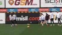 EREN DERDIYOK - Galatasaray'da Trabzonspor Maçı Hazırlıkları