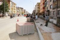 ERTUĞRUL ÇALIŞKAN - Karaman Belediyesinden Kaldırım Çalışmaları