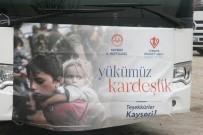 Kayseri'nin 349'Uncu Yardım Tırı Kilis'e Ulaştı