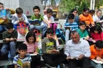 Milas'ta Açık Havada Kitap Okudular