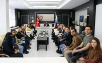 Öğrenci Topluluğundan Rektör Karacoşkun'a Ziyaret