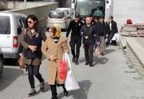 ELEKTRONİK KELEPÇE - Samsun'da FETÖ'den Gözaltına Alınan 5 Kişi Adliyeye Sevk Edildi