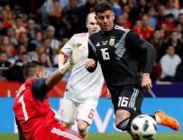 LİONEL MESSİ - Skora sinirlenen Messi tribünü terk etti!